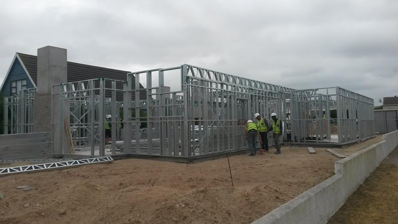 Light Steel Frame Structures Cape Town South Africa: New World Steel Construction
